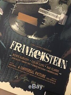 Frankenstein Anthony Petrie Reg AP Signed Screen Print Bottleneck Mint Sold Out