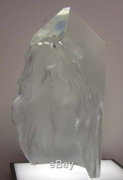 Frederick Hart'Exaltation1998 Lucite sculpture woman Beautiful! Sold out