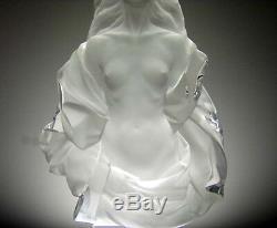 Frederick Hart Fidelia1988 Lucite sculpture woman Beautiful! Sold out piece
