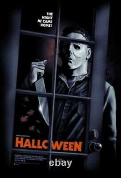 GARY PULLIN HALLOWEEN VARIANT POSTER Print NOT MONDO RARE x/100 SOLD OUT