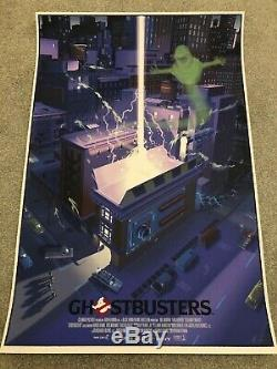 Ghostbusters by Laurent Durieux Sold Out Mondo Screen Print Edition of 375