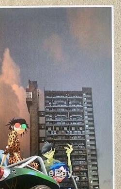 Gorillaz Song Machine Limited Edition Print number 3 SOLD OUT A2