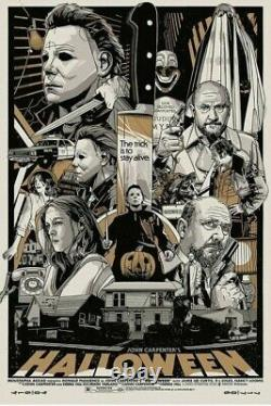 Halloween Variant Edition by Tyler Stout LIMITED /450 SOLD OUT CONFIRMED ORDER