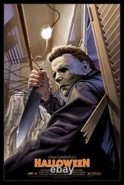 Halloween by Jason Edmiston Variant Sold out Mondo Print