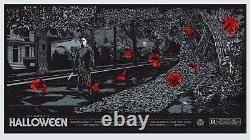 Halloween by Ken Taylor Regular Rare sold out Mondo print