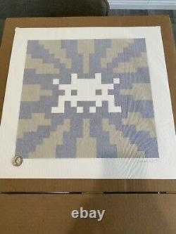 Invade Sunset Print Space Invader SOLD OUT Very Rare Kaws
