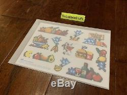 Invader Art Veggie Limited Edition Of 400 Sticker Sheet AUTHENTIC & SOLD OUT