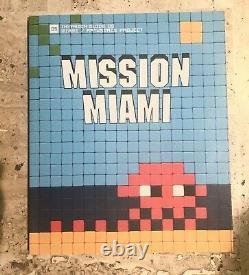 Invader Mission Miami Rare Sold Out 2012