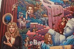 Ise Ananphada Twin Peaks Rare Sold Out Limited Movie Lynch Poster Print #/70