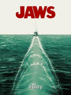 JAWS Screen Print By Doaly Rare Movie Poster BNG out of 150 24x36 SOLD OUT