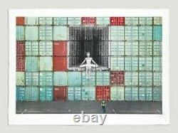 JR Art -In the container wall. Signed. LTD edition 180. Social Animals. Sold out