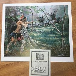 Jack Paluh Woodland Encounter SOLD OUT Print #1037/1275