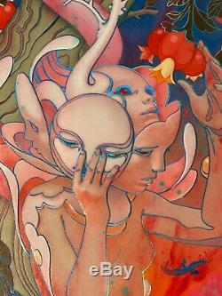 James Jean EDEN Signed/Numbered Limited Giclee Art Print Poster SOLD OUT