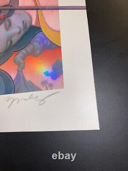 James Jean Erhu 2019 Art Print Giclee and Silkscreen! S/N Sold Out Stunning