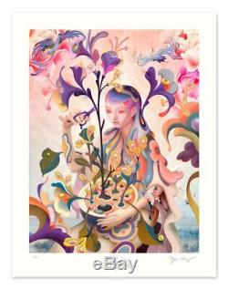 James Jean The Editor 2019 Poster Print Sold Out Limited Edition (In-Hand)