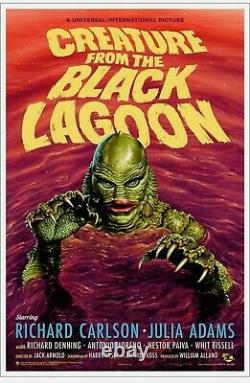 Jason Edmiston Creature From The Black Lagoon VARIANT Mondo Sold Out
