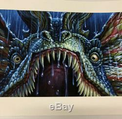 Jason Edmiston Nice Boi Dilophosaurus EWAF Jurassic Park SOLD OUT