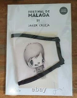 Javier Calleja Face Mask Hand Signed Limited Edition of 250 SOLD OUT