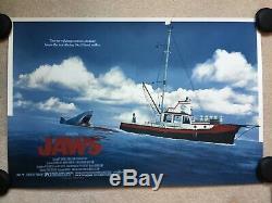 Jaws (Matt Ferguson) SOLD-OUT Ltd Ed Variant Print #48/75 Mondo Amblinesque