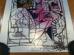 Joey Feldman Crayon Monster FOIL Variant Art Print Signed #/25 BNG SOLD OUT