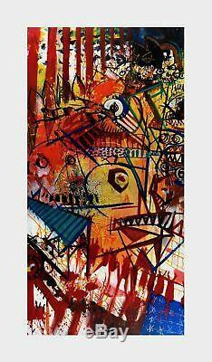 Joey Feldman Outside It's America #/50 Giclee 20 X 34 Sold Out