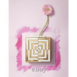 Jonathan Adler Square Vase Futura OP Art Sold Out NIB