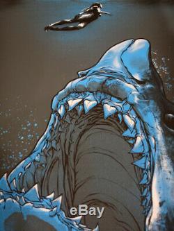 Joshua Budich Jaws Poster Mondo Kastel Bottleneck Sold Out