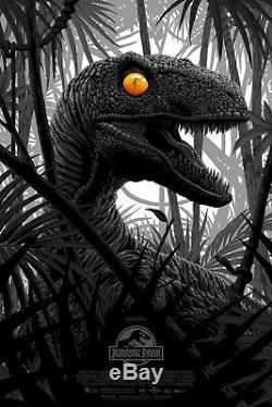 Jurassic Park Florey Bottleneck Gallery Variant Poster Print LE150 SOLD OUT