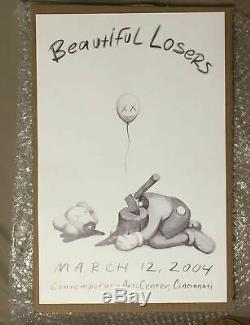 KAWS BEAUTIFUL LOSERS PRINT poster 2004 NEW 100% Confirmed Order SOLDOUT