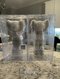 KAWS Holiday UK Set Grey + Black SOLD OUT, NEW Ships Fast IN HAND