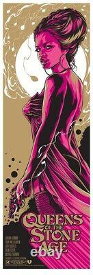Ken Taylor QUEENS OF THE STONE AGE 2011 Melbourne RARE SOLD OUT PRINT