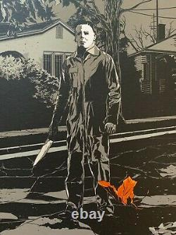Ken Taylor Signed Sold Out Halloween Variant Poster Mondo & Alamo Drafthouse