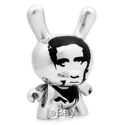 KidRobot Andy Warhol Masterpiece 8 Inch Elvis Dunny Art Figure SOLD OUT UNOPENED