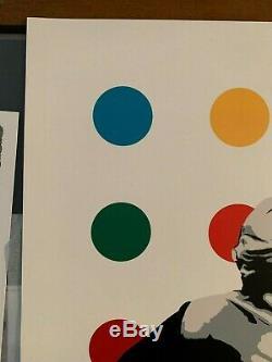 Kunstrasen Spot Remover Print Reg. Ed Sold Out, not Beejoir Hirst Chevrier
