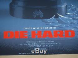 Laurent Durieux DIE HARD Poster MONDO Mystery Movie LA SOLD OUT Nakatomi
