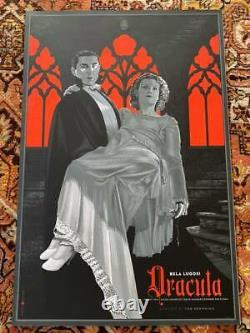 Laurent Durieux DRACULA print Bela Lugosi MONDO (sold out) No Reserve