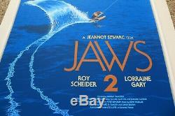 Laurent Durieux Jaws 2 Limited Movie Poster Print Mondo Spielberg Sold Out #/425