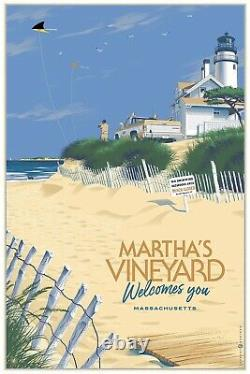 Laurent Durieux Jaws MARTHAS VINEYARD WELCOMES YOU Regular SOLD OUT not MONDO