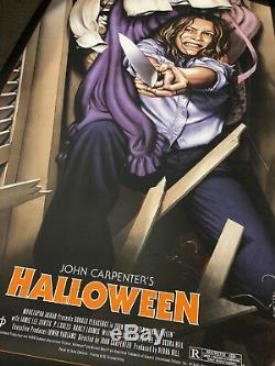 Laurie Strode Halloween Poster By Jason Edmiston Exclusive H40 Edition SOLD OUT