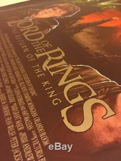 Lord of the Rings trilogy by Adam Rabalais private commission not mondo sold out