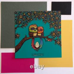 MARQ SPUSTA Two Birds and Their Mystery Egg Print Pack Sealed Blind Buy Sold Out