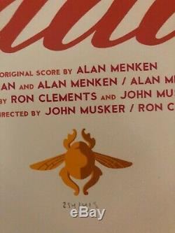 MONDO Disney Tom Whalen ALADDIN. SOLD OUT. Extremely rare. Hard to find