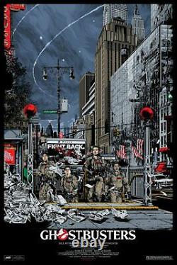 MONDO Ghostbusters movie print poster by Ken Taylor SOLD OUT