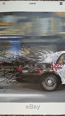 MR BRAINWASH METRO POLISA ART SCREEN PRINT #125 S/N SOLD OUT RARE Banksy MBW