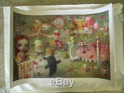 Mark Ryden The Magic Circus Art Print Lithograph Poster 122/500 with COA Sold Out