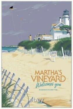 Marthas Vineyard Welcomes You Variant LAURENT DURIEUX Sold Out Pre-Sale