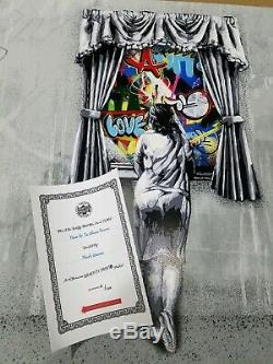 Martin Whatson Figure At The Window Reverse Edition #/150 Coa Girl Soldout