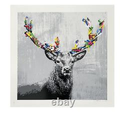 Martin Whatson The Stag 2020 Poster Art Print XXX/275 Signed Sold Out