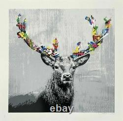 Martin Whatson The Stag- Main Ed Of 275 Sold Out In Hand