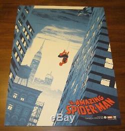 Matt Ferguson AMAZING SPIDER-MAN Print Poster GID Sold Out! Not Mondo